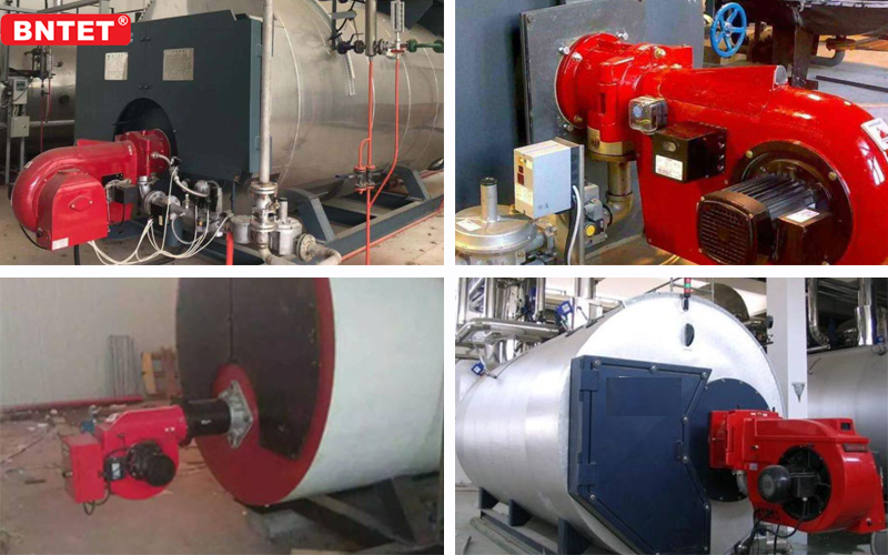 Oil and gas dual fuel burner